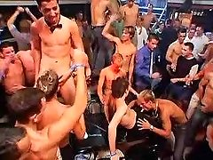 Lusty gays suck each other on gay sex party