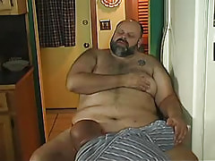Old gay sucks mature cock