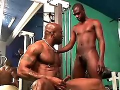 Black gay gets massive ass nailing